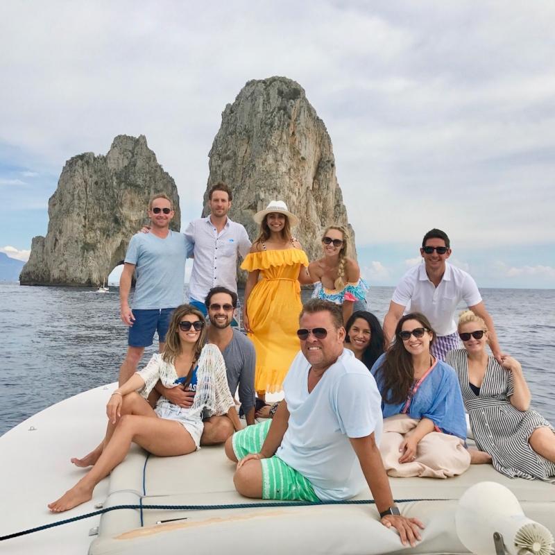 Buddymoon in Italy Capri