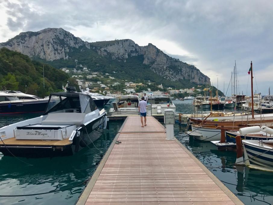 Buddymoon in Italy Capri JK Place
