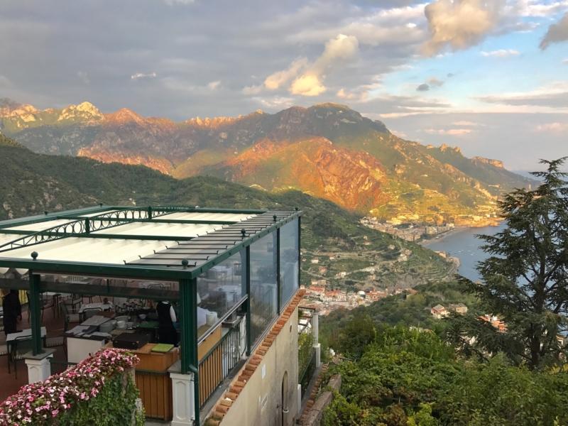Buddymoon in Italy Ravello