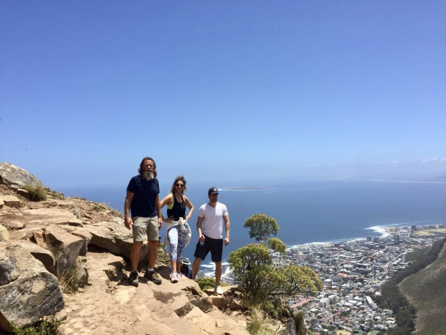 Lions Head hike Cape Town South Africa