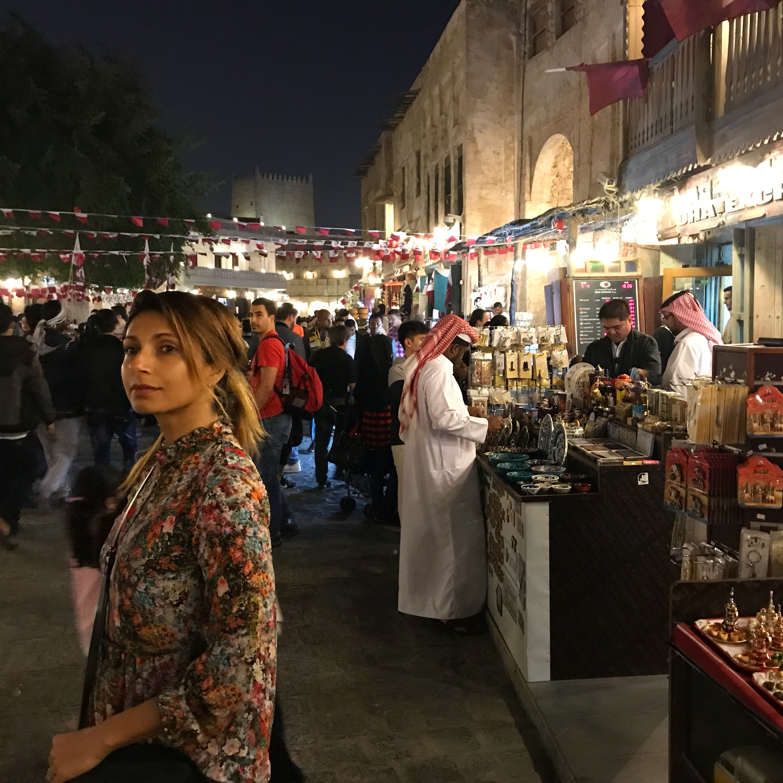 Layover in Doha Qatar Souq Waqif