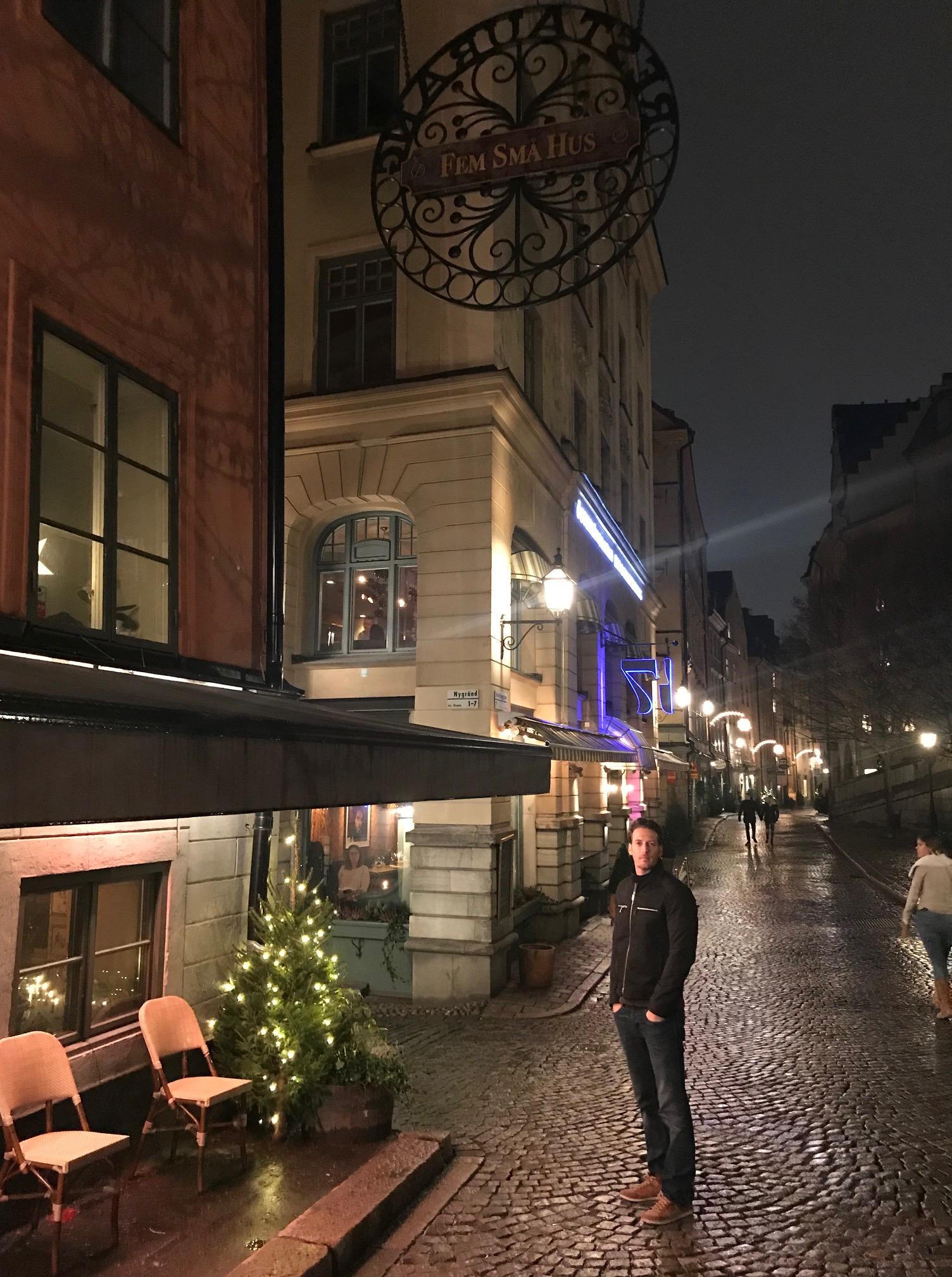 Gamla Stan Stockholm Sweden Winter