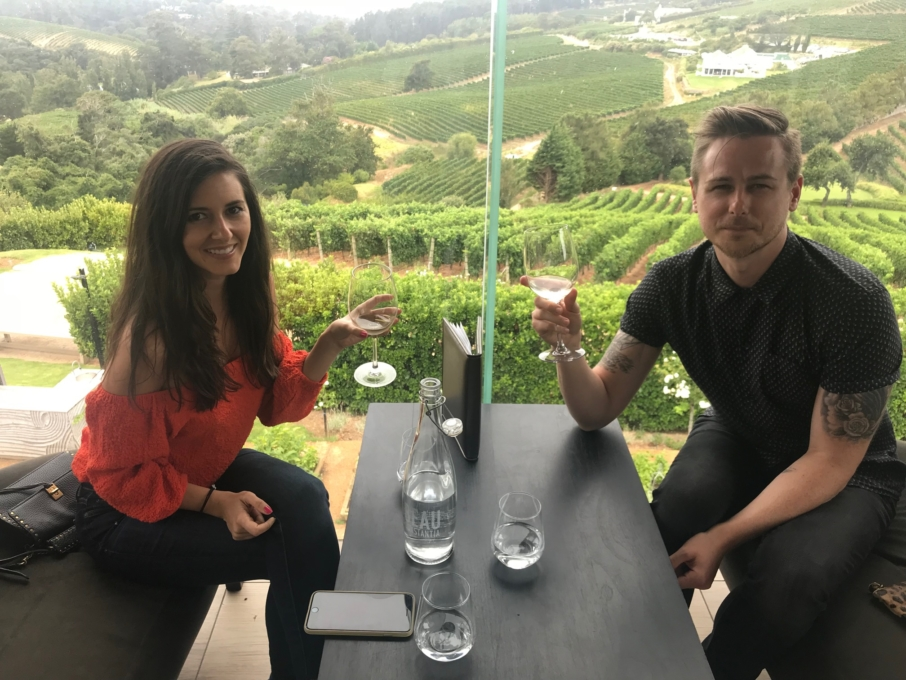 Wine Tasting at Beau Constantia
