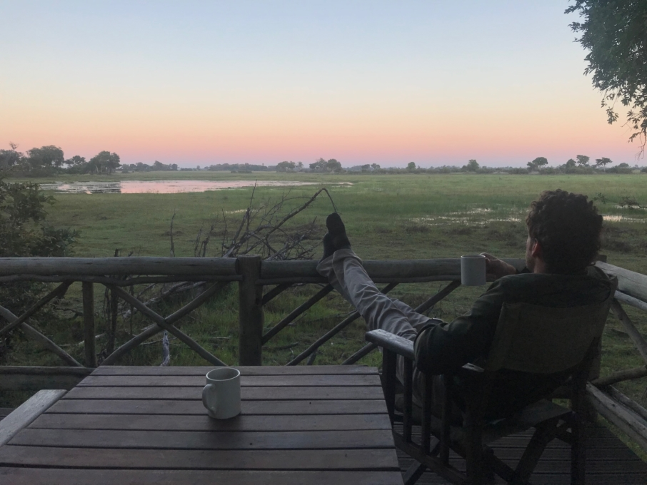 First Safari Okavango Delta Botswana