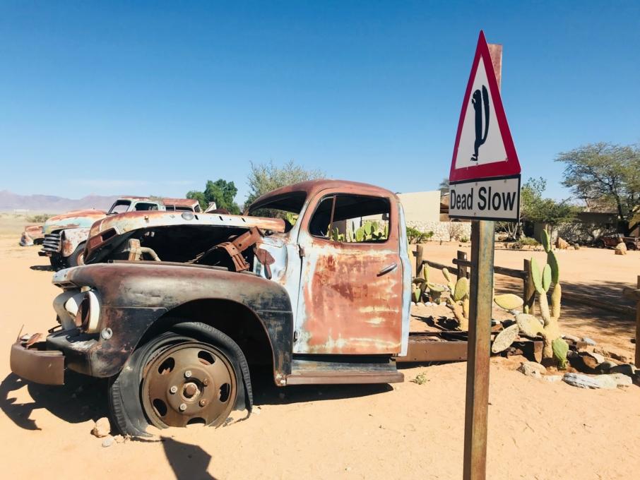 Roadtrip through Namibia Sossusvlei Desert Soitaire