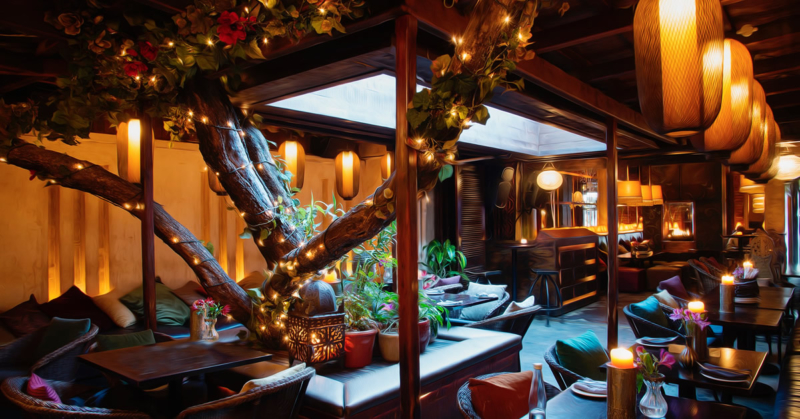 Best Bars with Chic Decor in Cape Town Asoka