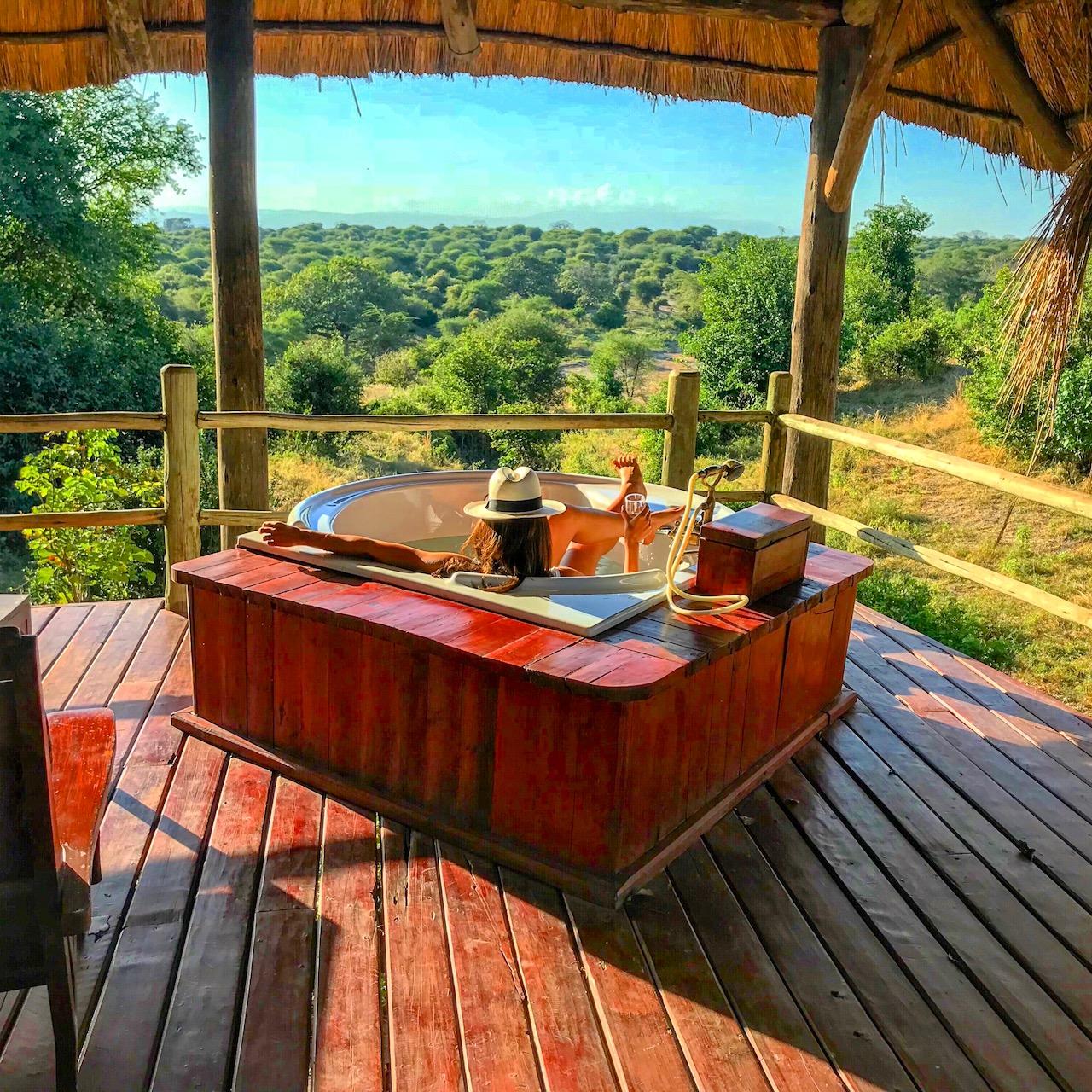 East Africa Safari Tarangire River Camp