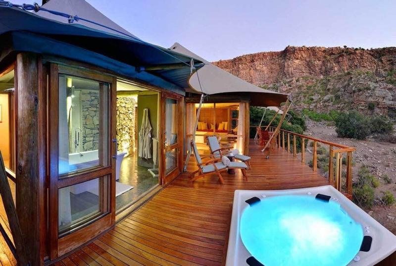 Safari at Sanbona Dwka Tented Lodge